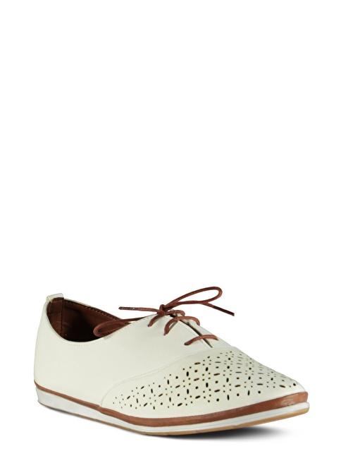 Marjin  Casual Ayakkabı Beyaz